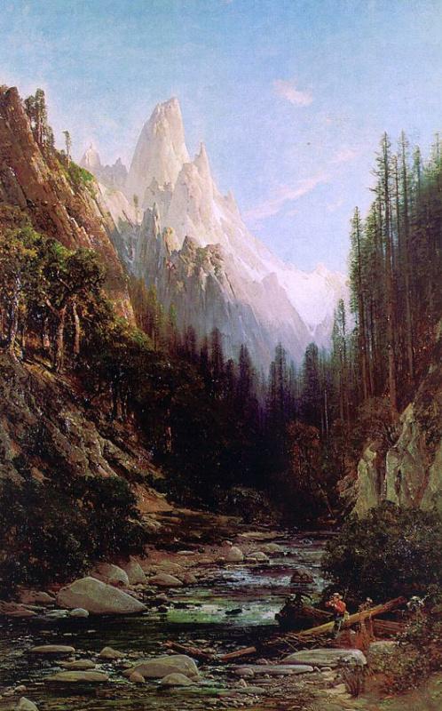 Томас Хилл. Вершины