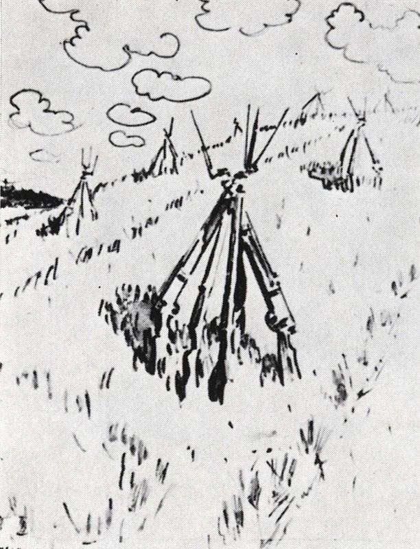 Валентин Александрович Серов. Виды на урожай 1906 года
