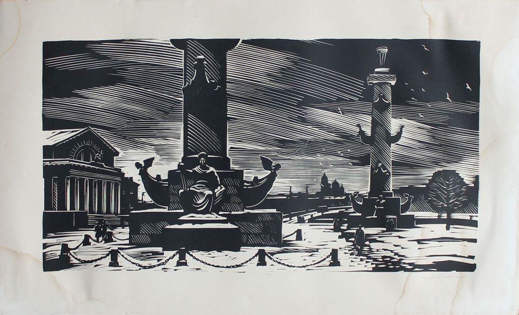 Andrei Alekseevich Ushin. Pushkin Square