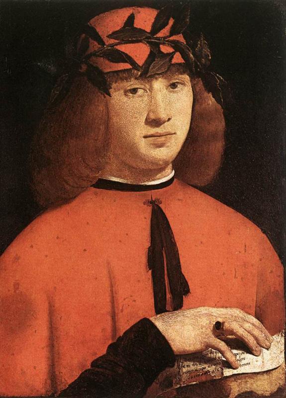 Джованни Антонио Болтраффио. Портрет
