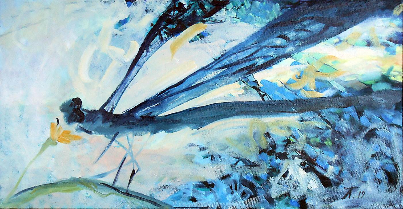 Tatyana N. Lassan. Dragonfly; Odonata