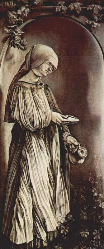 Matthias Grünewald. Fixed boards with four saints for Gelderovskom the altar by Albrecht dürer