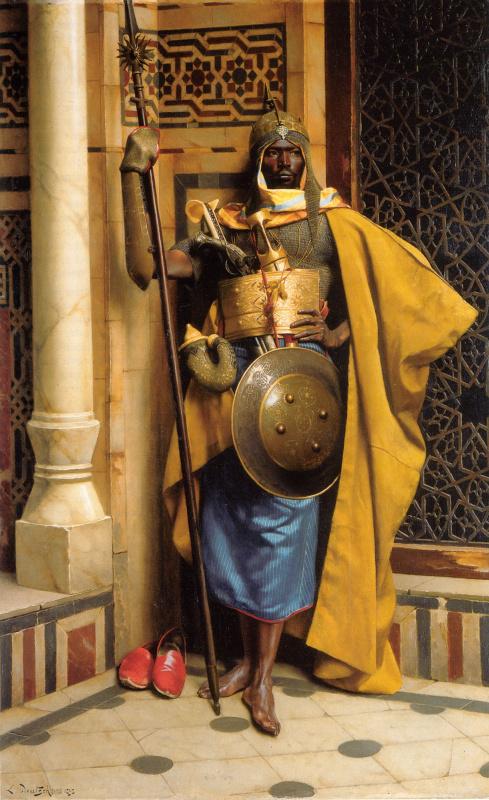 Людвиг Дойч. Дворец гвардии