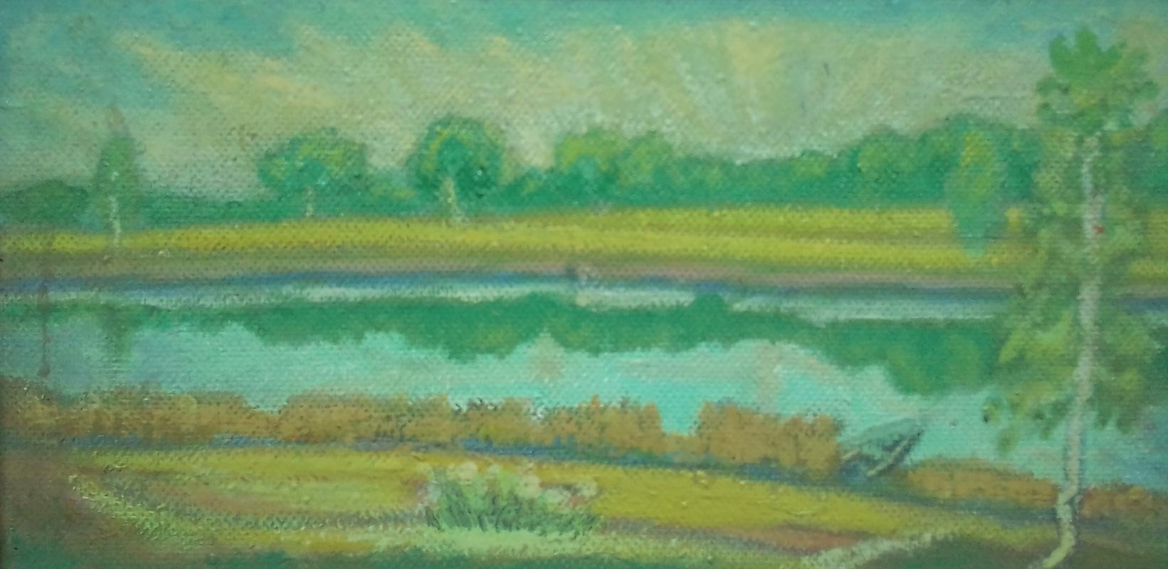 Вячеслав Коренев. By the river