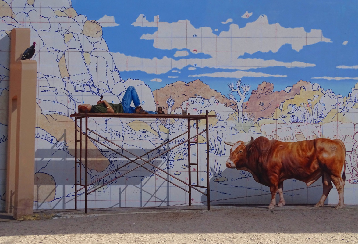 "John Pugh. ""Valentine's Day"". Valentine's Rodeo Bull and Cattle Day at Joshua National Park"