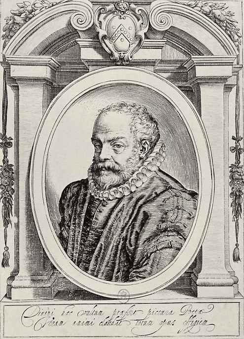 Агостино Карраччи. Портрет Франческо Денальо