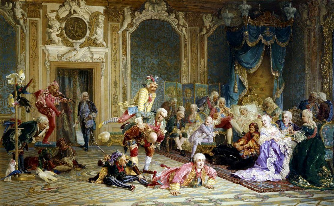 Валерий Иванович Якоби. Шуты при дворе императрицы Анны Иоанновны