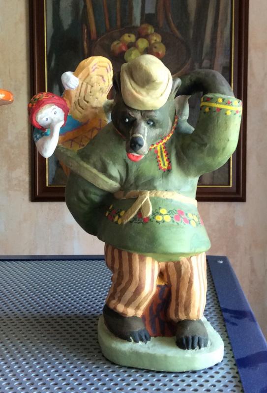 "Sergey Grigorievich Kolbanov. ""Mashenka and the Bear"""