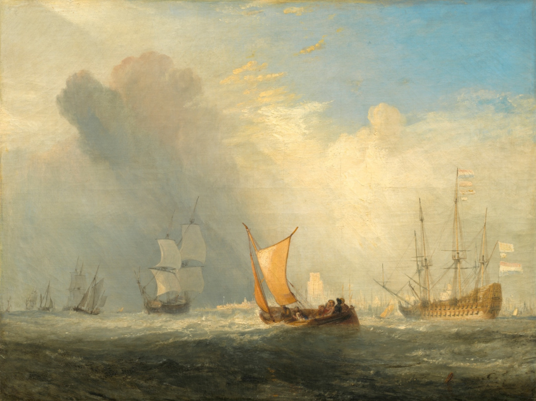 Joseph Mallord William Turner. Ferry to Rotterdam