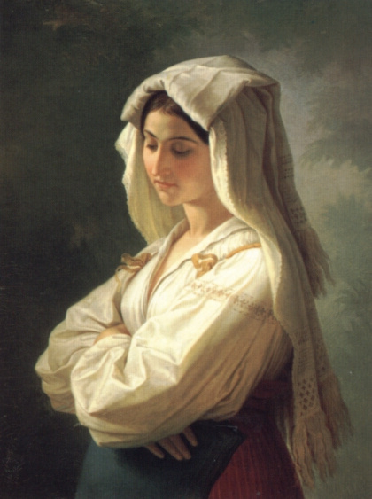 Портрет итальянки