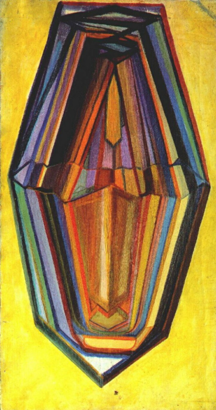 Mikhail Vasilyevich Matyushin. Self-portrait
