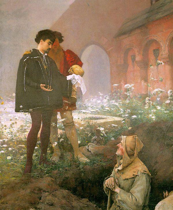 Паскаль Адольф Жан Даньян-Бувре. Гамлет