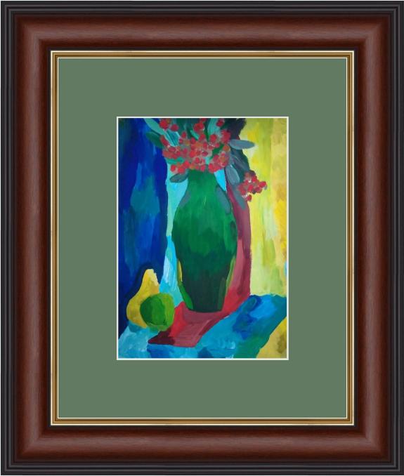 Art-Teodor Gallery. Still life, vase of flowers