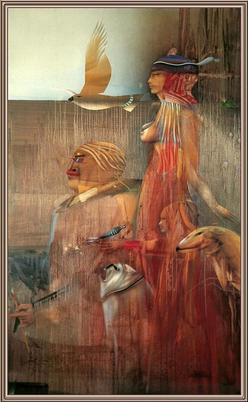 Пол Вундерлих. Семья с животными
