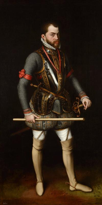 Антонис ван Дасхорст Мор. Портрет короля Филиппа II Испанского