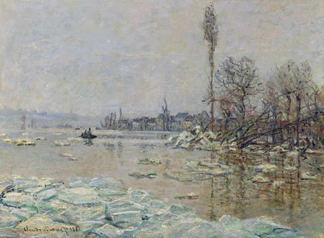 Claude Monet. Break