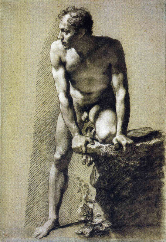Пьер-Поль Прюдон. Обнаженный мужчина