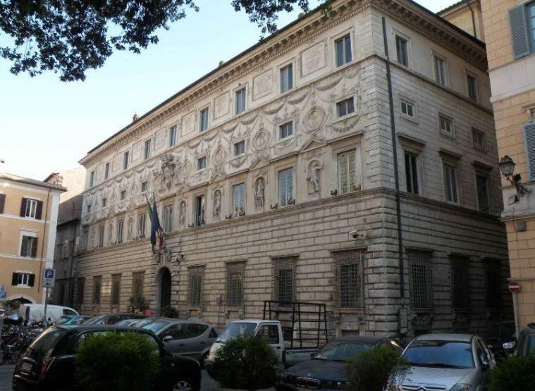Bartolomeo Baronio. Palazzo Spada