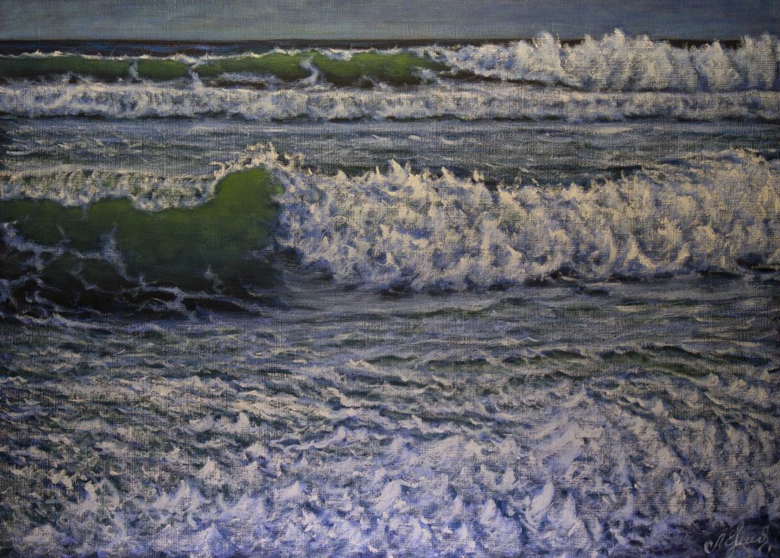 Valery Levchenko. № 589 Seascape.