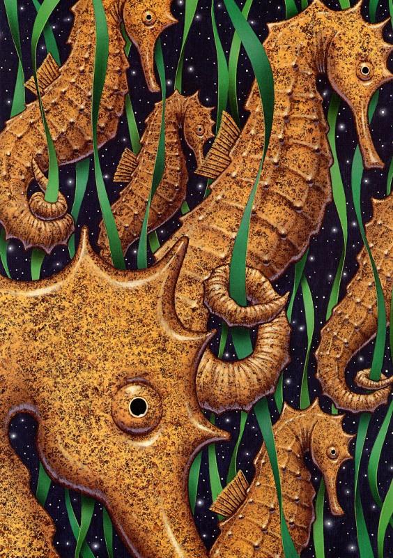 Ричард Каудри. Морской конек
