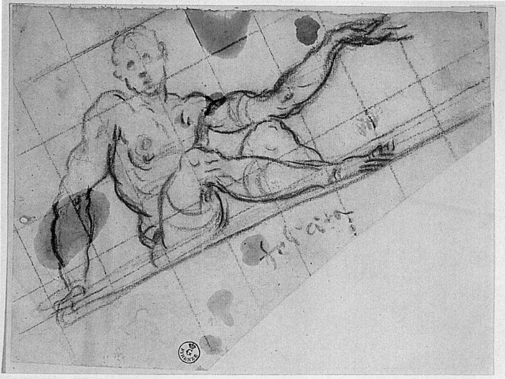 Jacopo (Robusti) Tintoretto. Design for an Allegory of Fortune (Felicità)