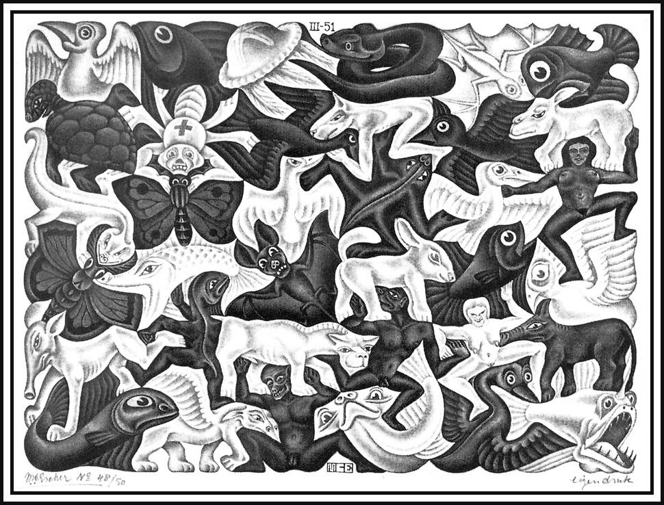 Мауриц Корнелис Эшер. Мозаика 1