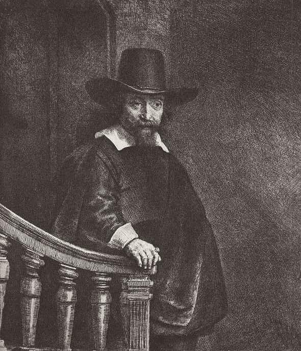 Рембрандт Харменс ван Рейн. Портрет Эфраима Бонуса
