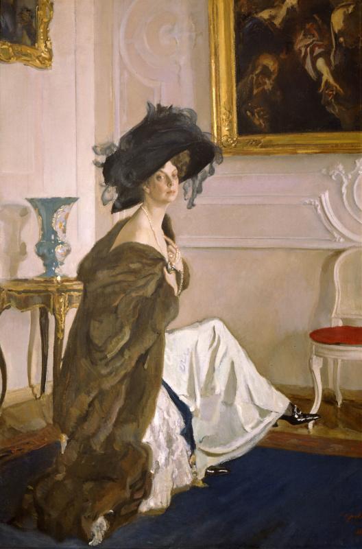 Валентин Александрович Серов. Портрет княгини Ольги Орловой