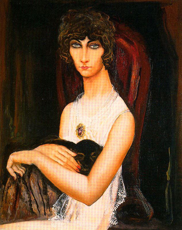 Исмаэль Гонсалес де ла Серна. Портрет молодой женщины