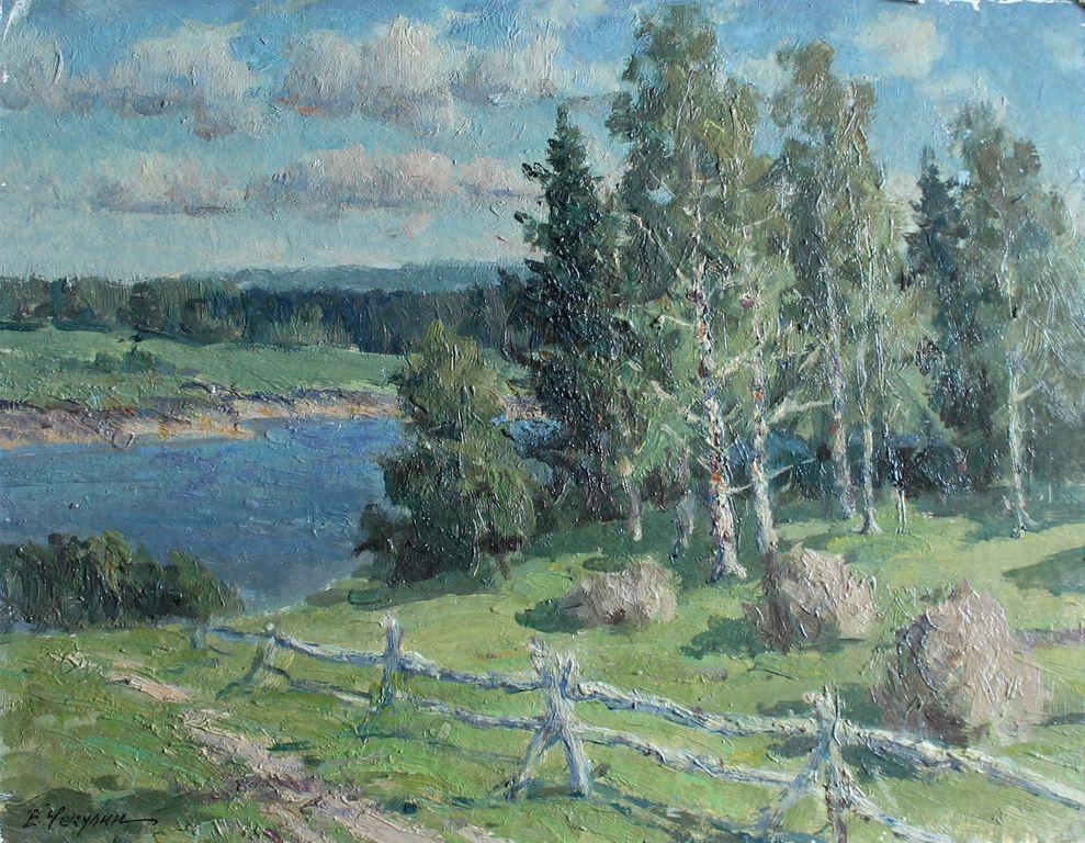 Vasily Nikolaevich Chechulin. Летний день