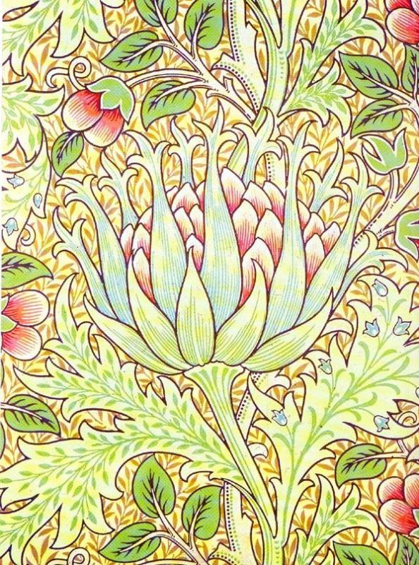 Уильям Моррис. Растительный узор 2