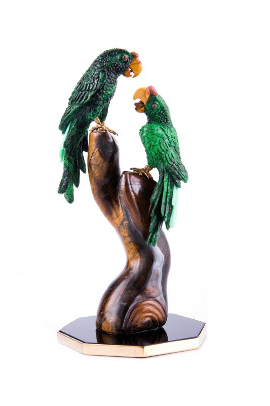 Luis Alberto Quispe Aparicio. Parrots
