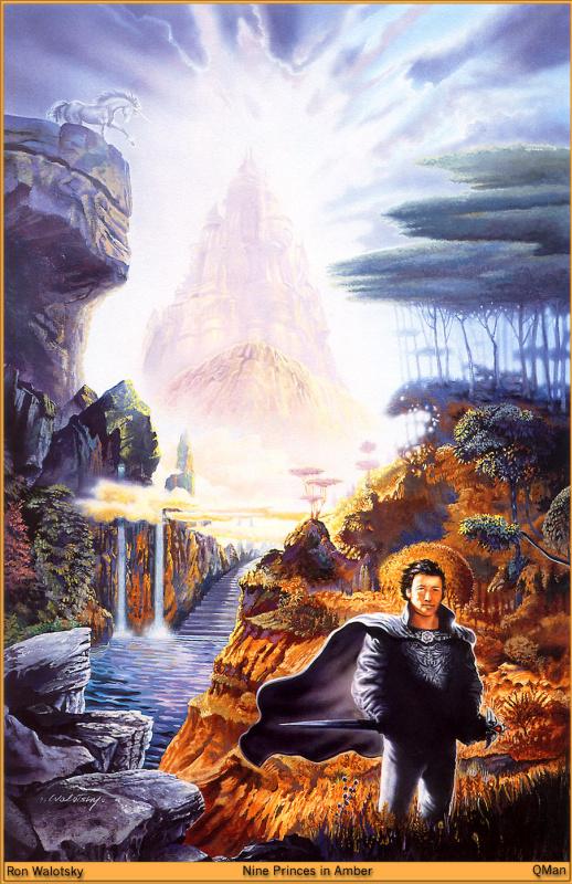 Рон Валотски. Девять принцев Амбера