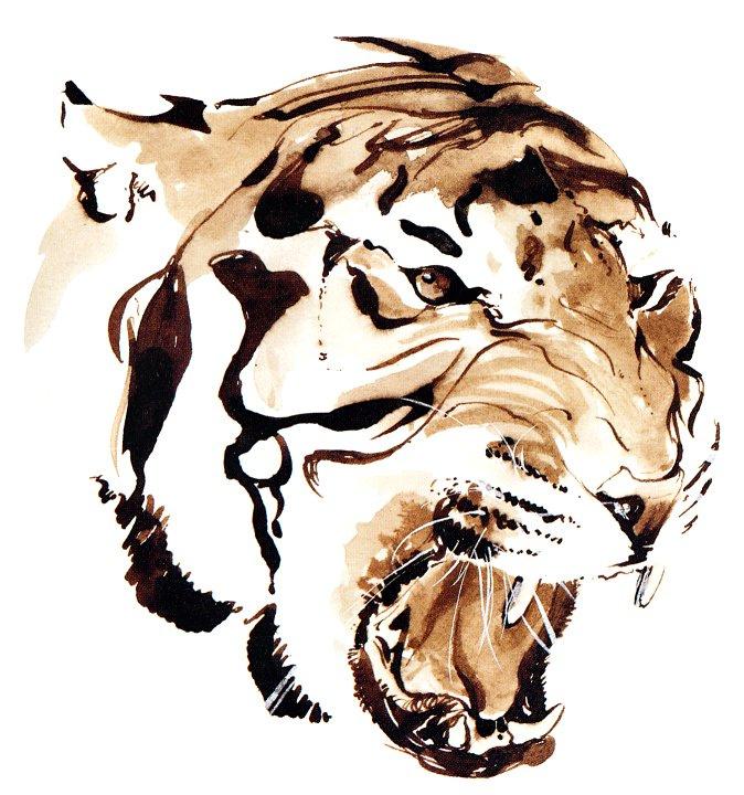 Рик Брайант. Тигр