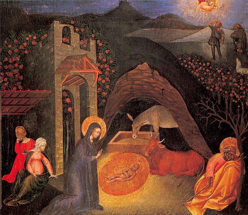 Giovanni di Paolo. The Birth Of Christ