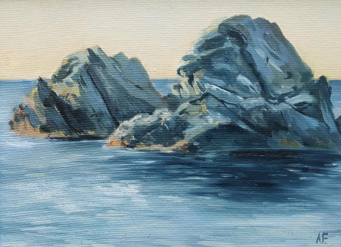 Alexandra Sergeevna Fedulova. Rocks - 1