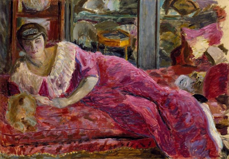 Пьер Боннар. Мизиа на диване