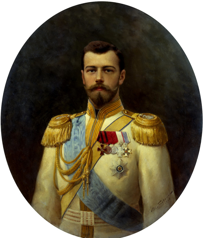 Ilya Galkin. Nicholas II