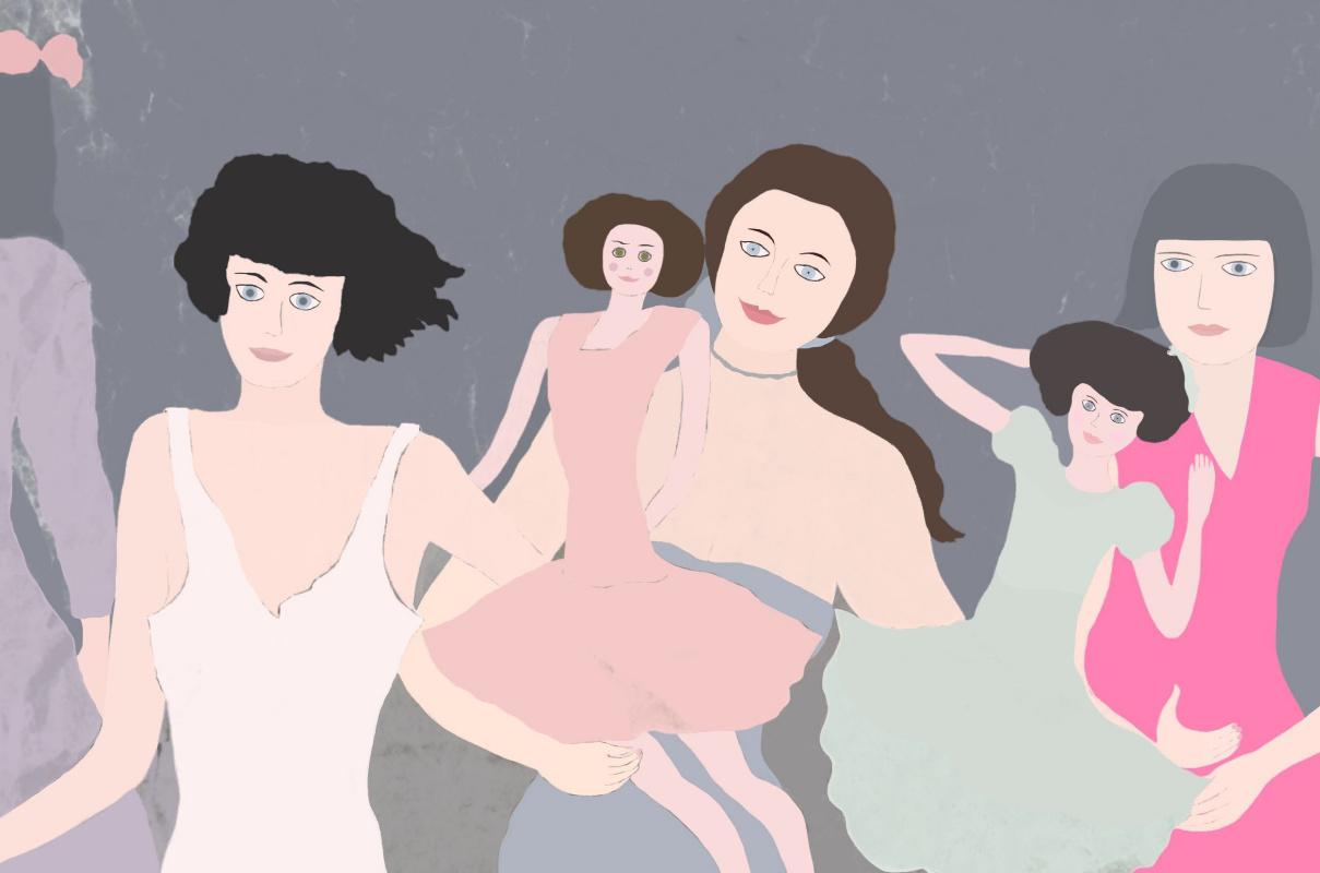 """Svetlana Sisina. """"Dolls for daughters"""""""