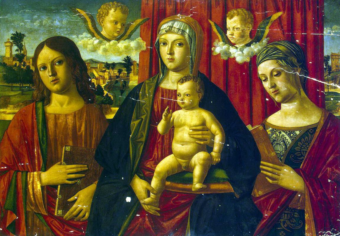 Джованни ди Никколо Мансуэти. Мадонна с младенцем