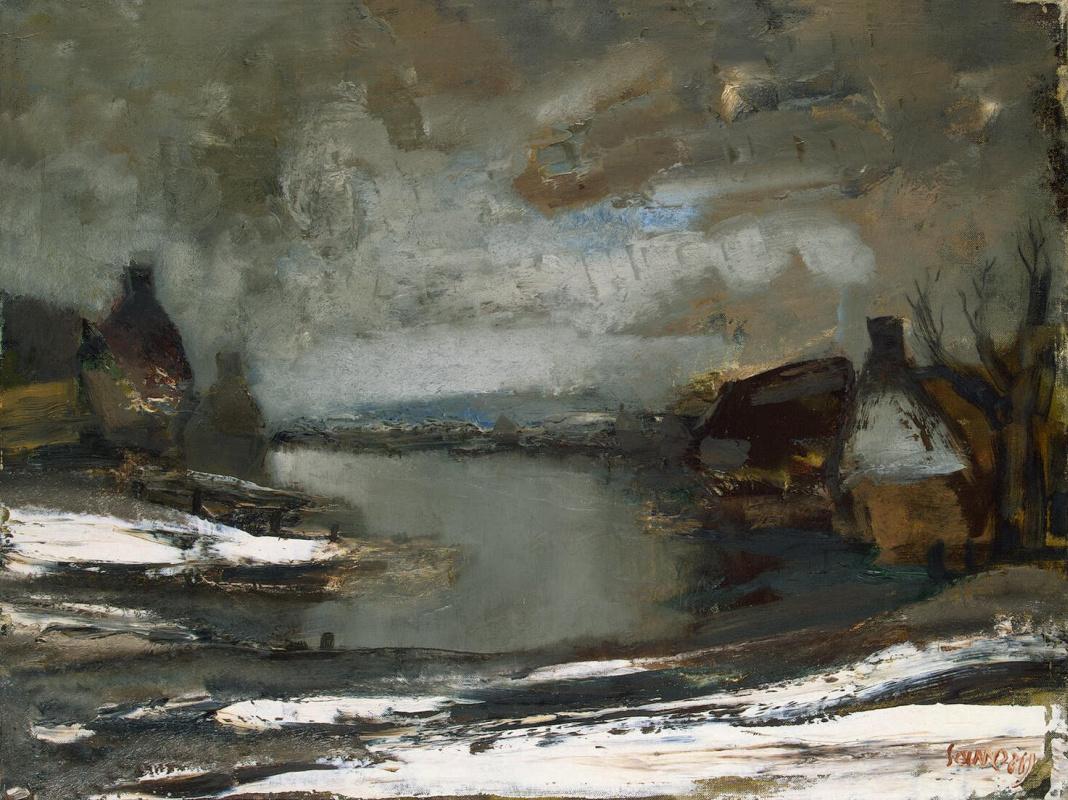 Альбер Саверейс. Река