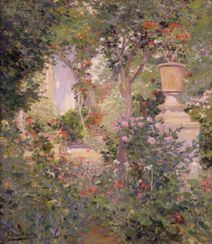 Хосе Бенльуре-и-Хиль. В саду автора