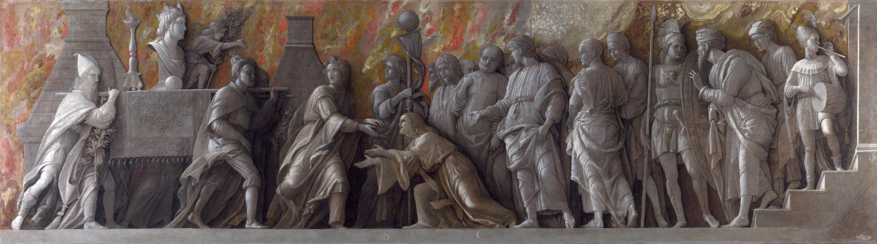 Андреа Мантенья. Введение культа Кибелы в Риме