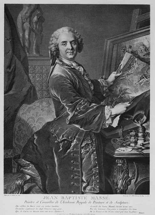 Иоганн Георг Вилле. Жан-Батист Массе