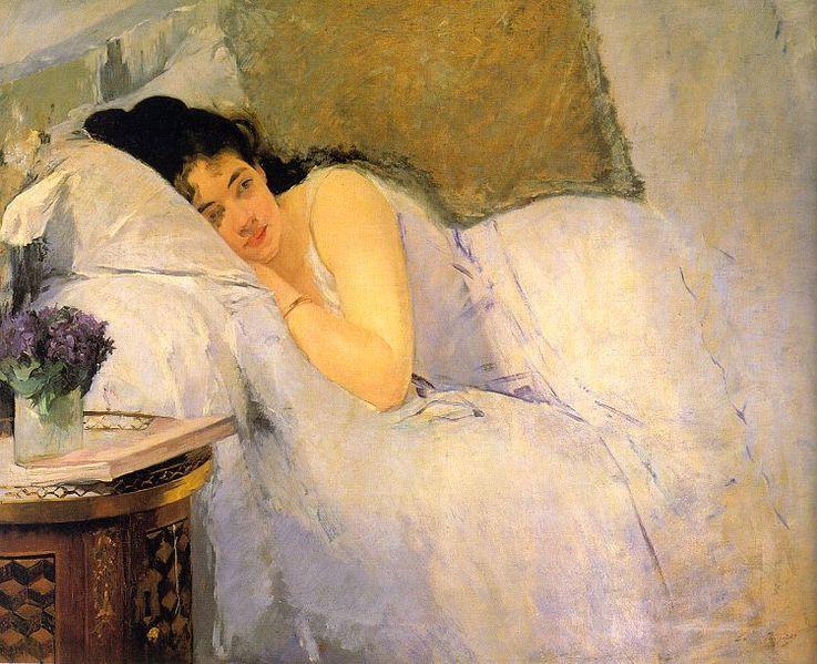 Eva Gonzalez. Morning awakening