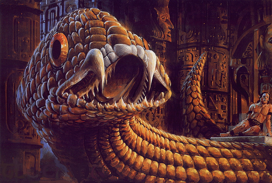 Джон Берки. Змей