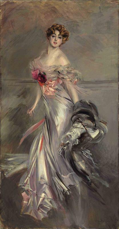 Giovanni Boldini. Portrait of Martha Rainier