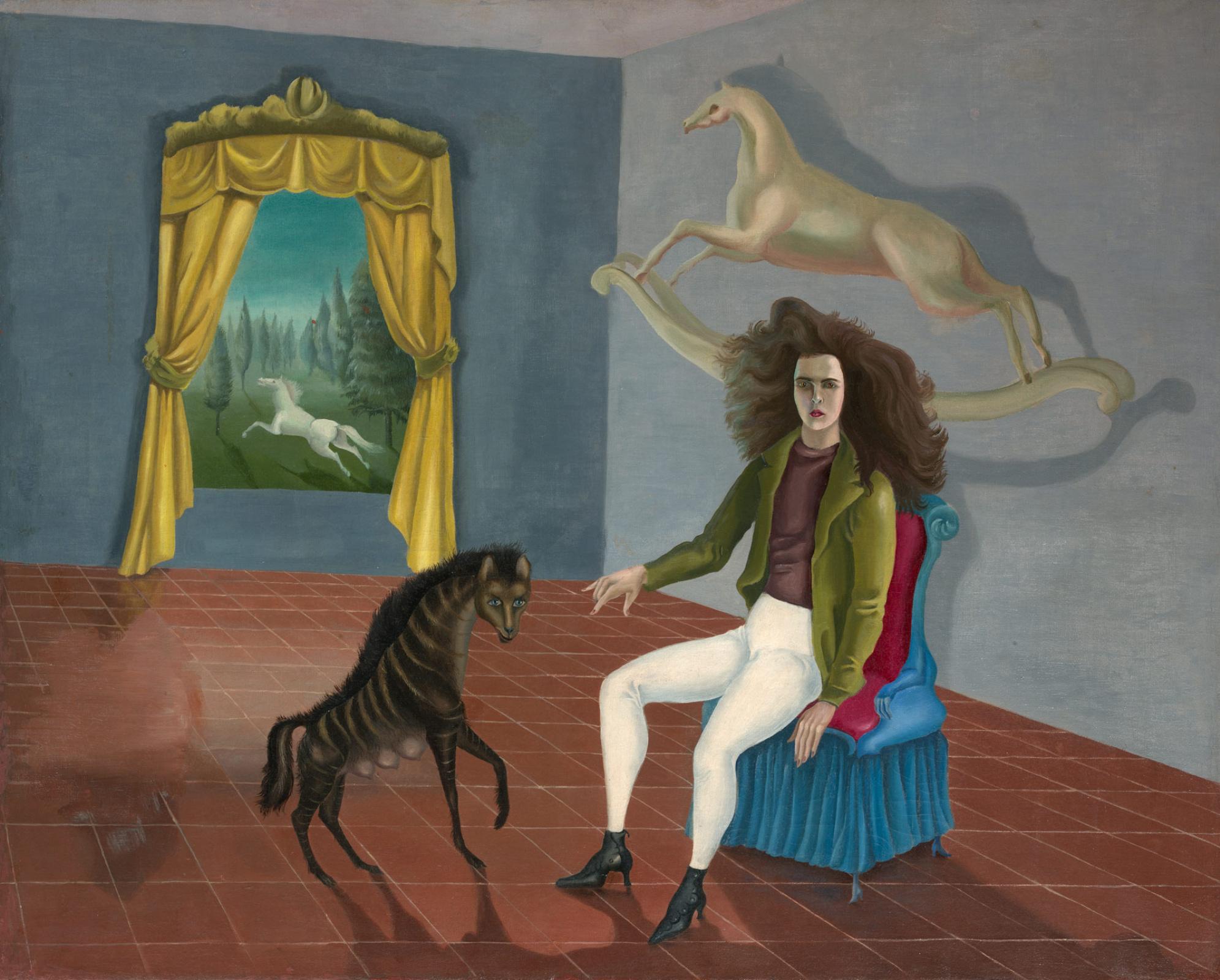 Leonora Carrington. Self-portrait