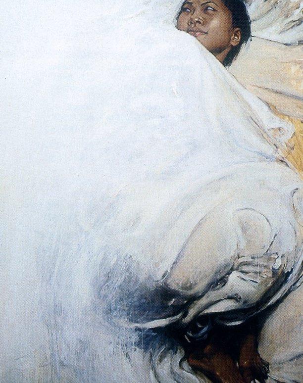 Шон Барбер. Белые простыни