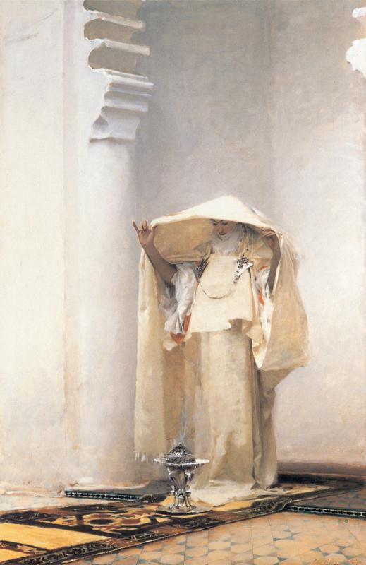 John Singer Sargent. Smoke of ambergris